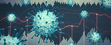 Decorative illustration of virus